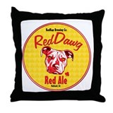 Red Nose Throw Pillow
