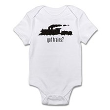 Trains Infant Bodysuit