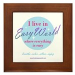 Easy World Framed Tile