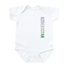 Uzbekistan Stamp Infant Bodysuit