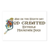 God Created Estrelas Postcards (Package of 8)