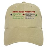 Spinone Italiano Property Laws 2 Baseball Cap