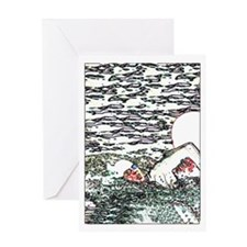OPEN WATER SWIM Greeting Card