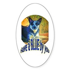 """""""Blue By You"""" Decal"""