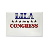 LILA for congress Rectangle Magnet