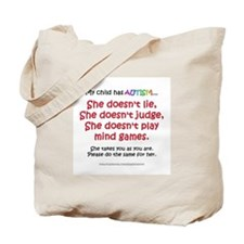 No Games (Girl) Tote Bag