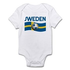 TEAM SWEDEN WORLD CUP Infant Bodysuit