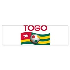 TEAM TOGO WORLD CUP Bumper Bumper Sticker