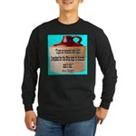 Wasted by Steve Karbitz Long Sleeve Dark T-Shirt