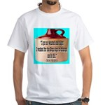 Wasted by Steve Karbitz White T-Shirt