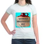 Wasted by Steve Karbitz Jr. Ringer T-Shirt