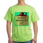 Wasted by Steve Karbitz Green T-Shirt