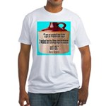 Wasted by Steve Karbitz Fitted T-Shirt