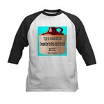 Wasted by Steve Karbitz Kids Baseball Jersey