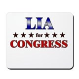 LIA for congress Mousepad
