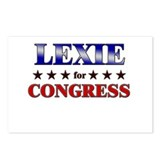 LEXIE for congress Postcards (Package of 8)
