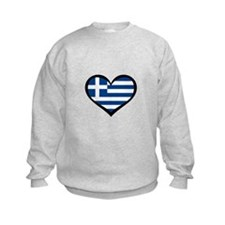Greece Love Greek Sweatshirt