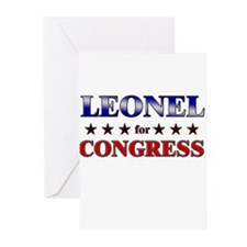LEONEL for congress Greeting Cards (Pk of 20)