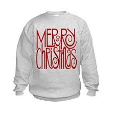 Merry Christmas Red Sweatshirt