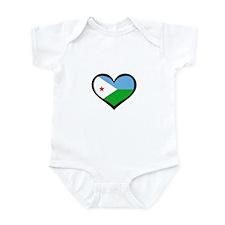 Djibouti Love Infant Bodysuit