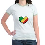 Congo Love Heart T