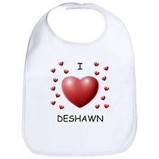 I Love Deshawn - Bib