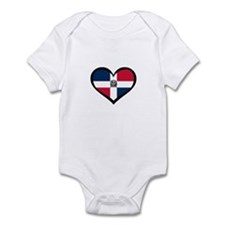 Dominican Republic Love Infant Bodysuit