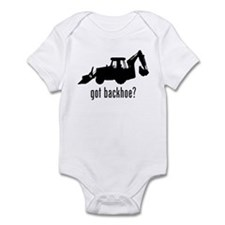Backhoe 2 Infant Bodysuit