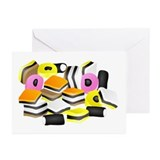 Licorice Allsorts Greeting Cards (Pk of 10)