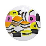 Licorice Allsorts Keepsake (Round)