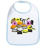 Licorice Allsorts Bib