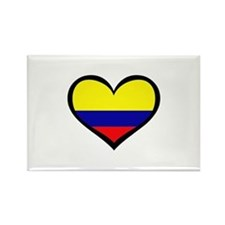 Colombian Love Rectangle Magnet