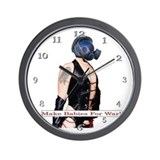 Make Babies For War Wall Clock