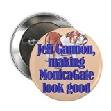 "Monicagate looks good 2.25"" Button (10 pack)"