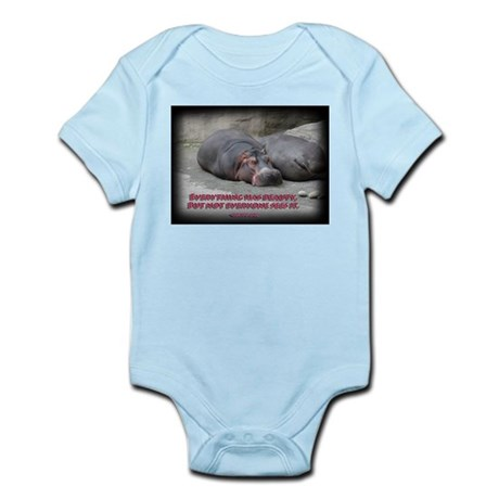 Hippos are beautiful! Infant Bodysuit