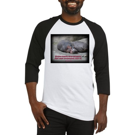 Hippos are beautiful! Baseball Jersey