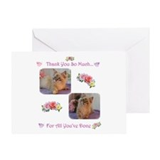 Unique Thanks Greeting Card
