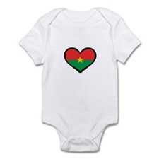 Burkina Faso Love Infant Bodysuit