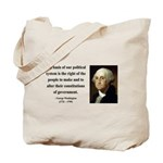 George Washington 5 Tote Bag