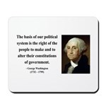 George Washington 5 Mousepad