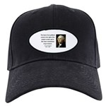 George Washington 5 Black Cap