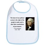 George Washington 5 Bib