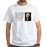 George Washington 5 White T-Shirt