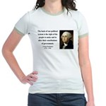 George Washington 5 Jr. Ringer T-Shirt
