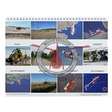 Unique Helicopters Wall Calendar
