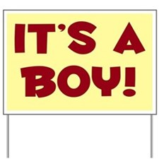 It's a Boy! Yard Sign