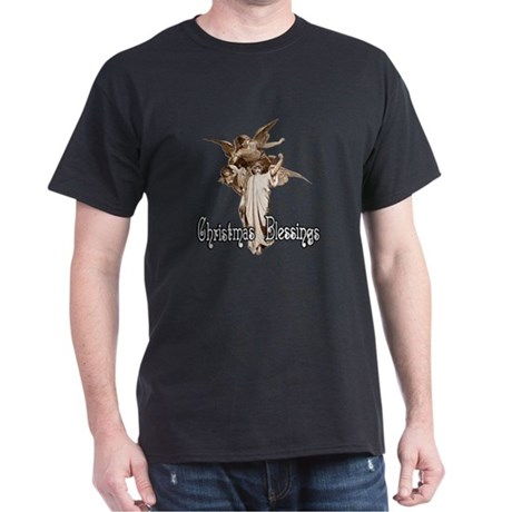Christmas Blessings Dark T-Shirt