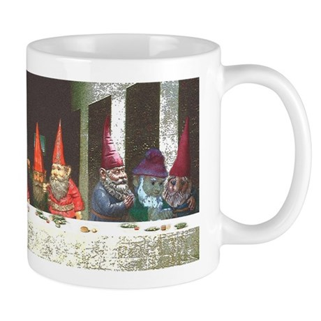 """Gnome"" Last Supper Mug"