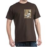 WOE Brown Bar Bald Dark T-Shirt