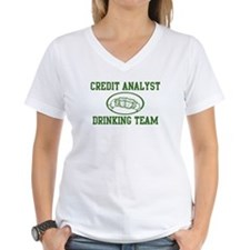 Credit Analyst Drinking Team Shirt